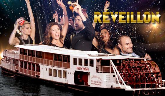 R veillon nouvel an paris soir e jour de l 39 an paris bateau belle vall e - Reveillon original paris ...